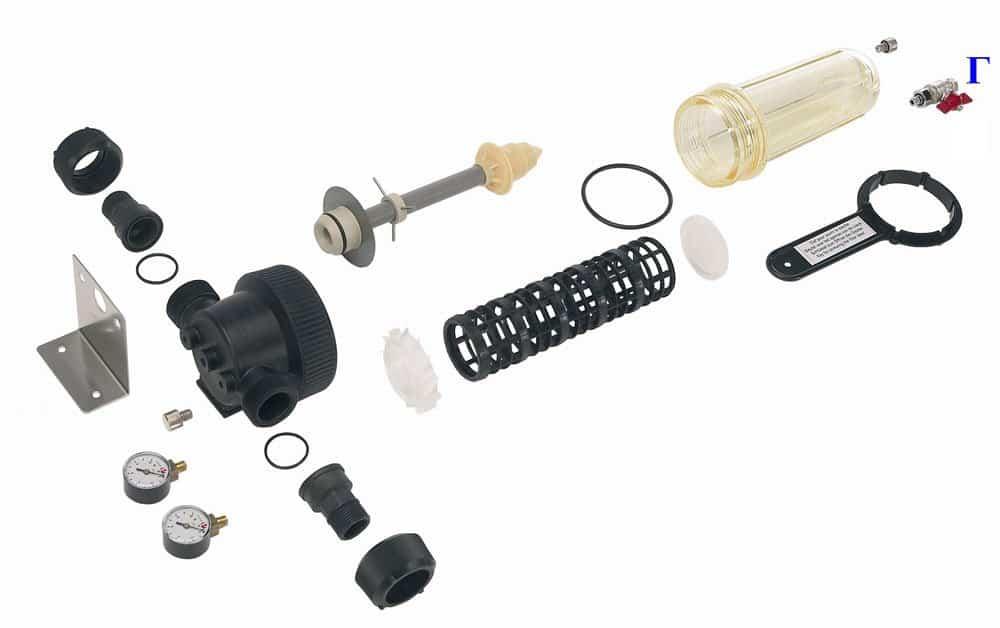 """Cintropur NW32 Фильтр механический 1"""" с ключом и мешком 25µ, 6,5 м³/час"""
